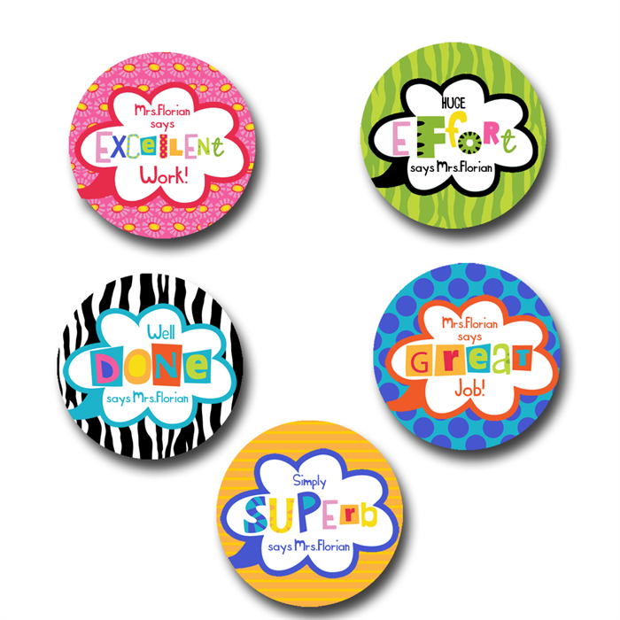 Personalised teacher stickers custom stickers easy online