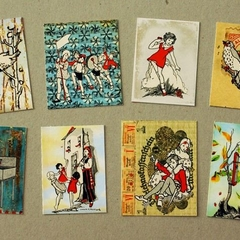 Storybook stickers - set 1