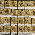 Vintage Scrabble pendant - choose your own letter