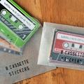 Cassette Tapes sticker set