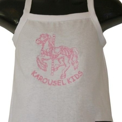 KAROUSEL KIDS White cotton Singlet - FREE POST