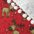 Christmas Stockings, decoration - reindeers pair