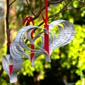 Hanging Paper Garland - Love Hearts (large) from Upcycled/Recycled Books Handcut