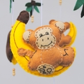Cute monkey ~ mobile