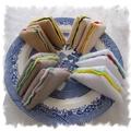 Sandwiches Felt Play Food, Toy Kitchen Accessories