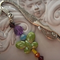 gorgeous mermaid bookmark in beautiful colours and butterfly BOOKMARKS