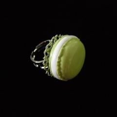 Pistachio Macaroon Ring