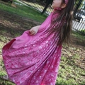Play Cape/Cloak - Pink with Ballet Shoes - Sizes 2yrs & 4yrs plus