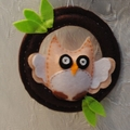 Cute Owl wall hanging
