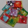 Alphabet Cloth Book
