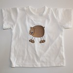 CLEARANCE... SIZE 0000 Embroidered Bear Baby T-shirt
