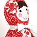 Babushka Doll Pattern. PDF Sewing Pattern. Nursery, Home Decor, Doorstop