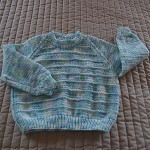 SIZE 2-3 - Hand knitted jumper