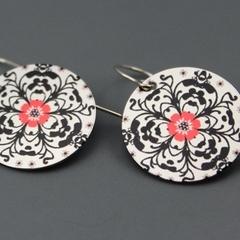 Printed Graphic earrings