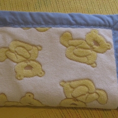 Baby blanket - Fluffy teddies