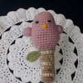 BABY RATTLE  - Bird rattle