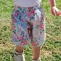 """Harem Pants Summer Shorts - """"Ribbons & Roses""""  winter. birthday party."""