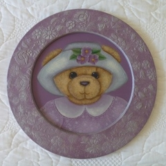 Round Painted Bear Picture