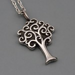CUSTOM MADE - Sterling Silver Tree of Life Pendant