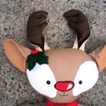 Ginger the Christmas Reindeer Softie