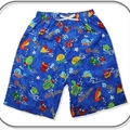 CLEARANCE...   SIZE 0 Sea Creatures Boys Long Shorts