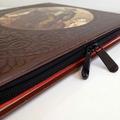 Rare Leather Book Ipad Case - Wild West