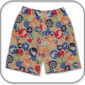 CLEARANCE... SIZE 00 Boys Long Shorts - Whales