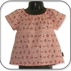 GIRLS Cherry Tree Blouse - FREE POST