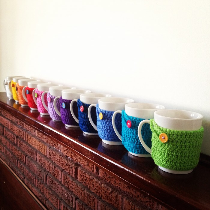 Free Crochet Mug Cozy Pattern Choice Image Knitting Patterns Free