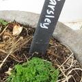 Slate Garden Labels