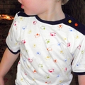 Easter lamb boys cotton T shirt Size ~ 000