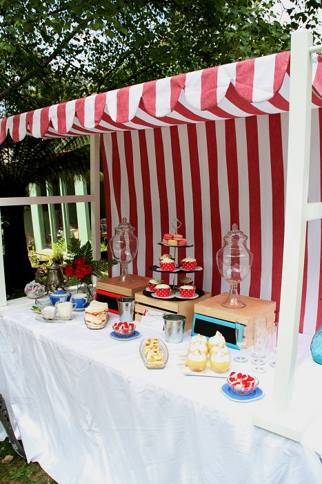 ... Canopy for Lolly Shop Display Candy Buffet Red white vintage stripe ... & Canopy for Lolly Shop Display Candy Buffet Red white vintage ...