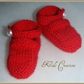Hand Knitted Shoes | NB to 12M | Custom Colour | Unisex | Made to Order