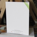 Green & Gold Frog greeting card Australian wildlife art, reptile, tree frog
