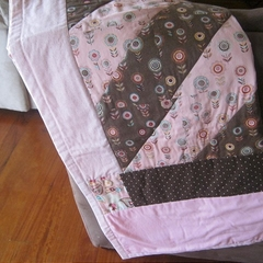 Baby Girl Cot Quilt/ Play Quilt