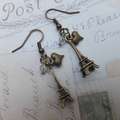 In Love with Paris Earrings