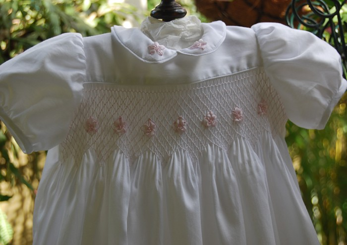 Baby Girl\'s First Smocked Dress - Size Newborn - 3 months | Heavenly ...