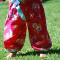 Harem Pants in Ruby Roses 0000, 00, 0,1, 2, 3, 4, 5 summer winter