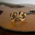 Way Cool Guitar Pick Cufflinks