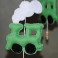 Toot Toot Chug Chug ~ 4 green trains ~ mobile