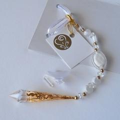 Wedding bride good luck charm, alternative to horseshoe. Suncatcher.  WC8.