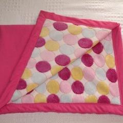 Baby blanket- bright spots