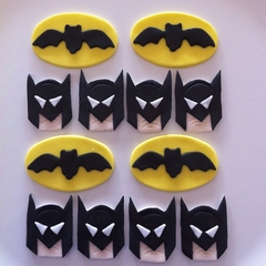 Batman Edible Cupcake Toppers