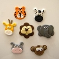 Jungle Animals Cupcake Toppers