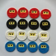 Ninjago Cupcake Toppers