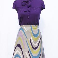 Horse Shoe A-Line Skirt