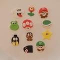 Mario Bros Cupcake Toppers