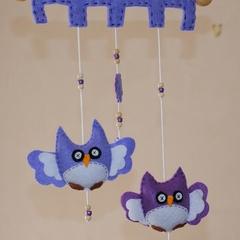 Hoot Hoot Cheeky Owl ~ Purple and Lilac