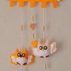 Hoot Hoot Cheeky Owl ~ Apricot and Cream