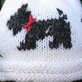 Child's Scotty Dog hat